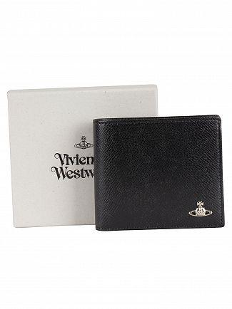 Vivienne Westwood Black Kent Man Billfold Wallet