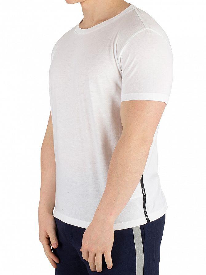 Calvin Klein White Jersey T-Shirt