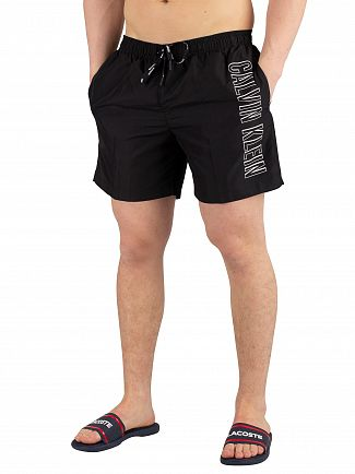 Calvin Klein Black Medium Drawstring Swimshorts