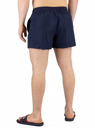 Calvin Klein Blue Shadow Short Drawstring Swimshorts