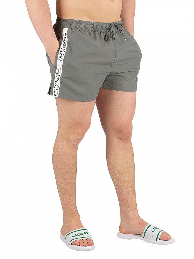 Calvin Klein Sedona Sage Short Runner Logo Swimshorts
