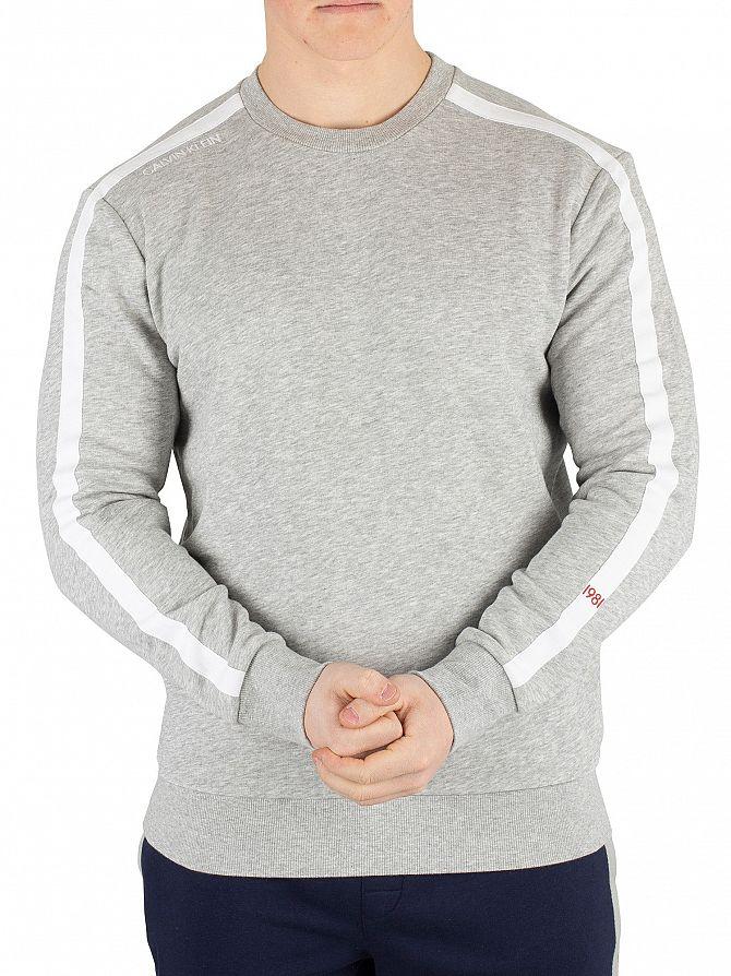 Calvin Klein Grey Heather Sweatshirt
