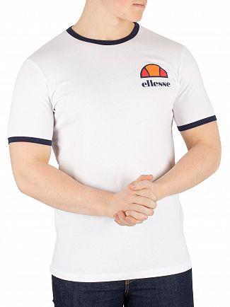Ellesse White Algila T-Shirt