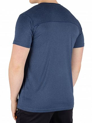 Ellesse Navy Marl Becketi T-Shirt