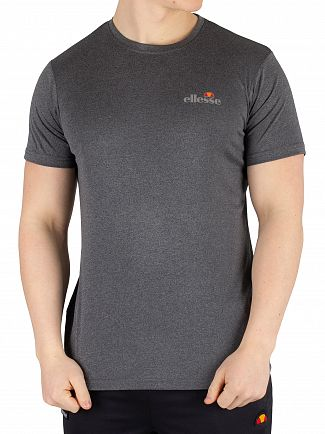 Ellesse Black Marl Becketi T-Shirt