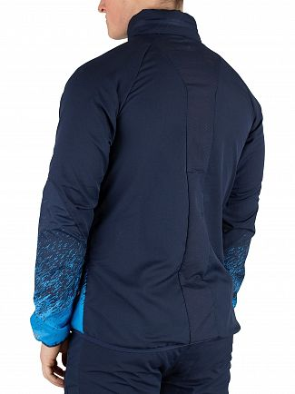 Ellesse Navy Calabrian Poly Ripstop Jacket