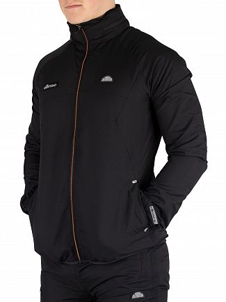 Ellesse Black Calabrian Poly Ripstop Jacket