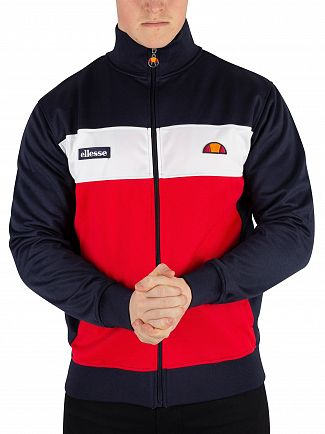 Ellesse Navy Caprini Track Jacket