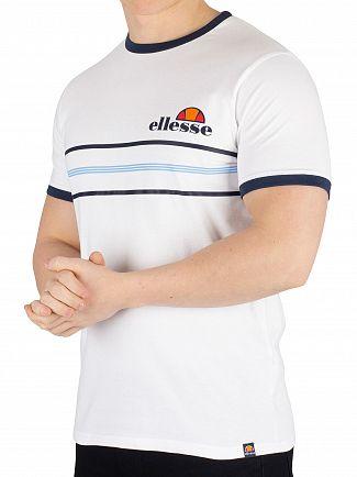 Ellesse White Gentario T-Shirt