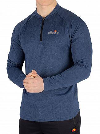 Ellesse Navy Janeti Longsleeved T-Shirt