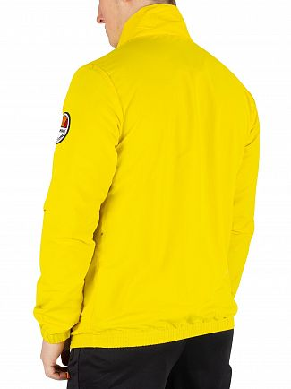 Ellesse Yellow Junio Overhead Jacket