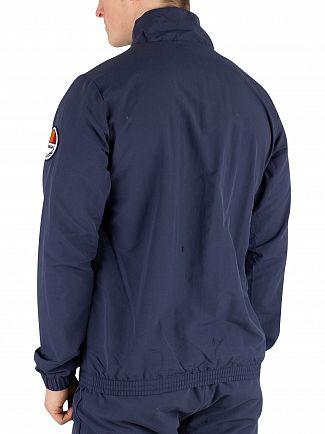 Ellesse Navy Junio Overhead Jacket