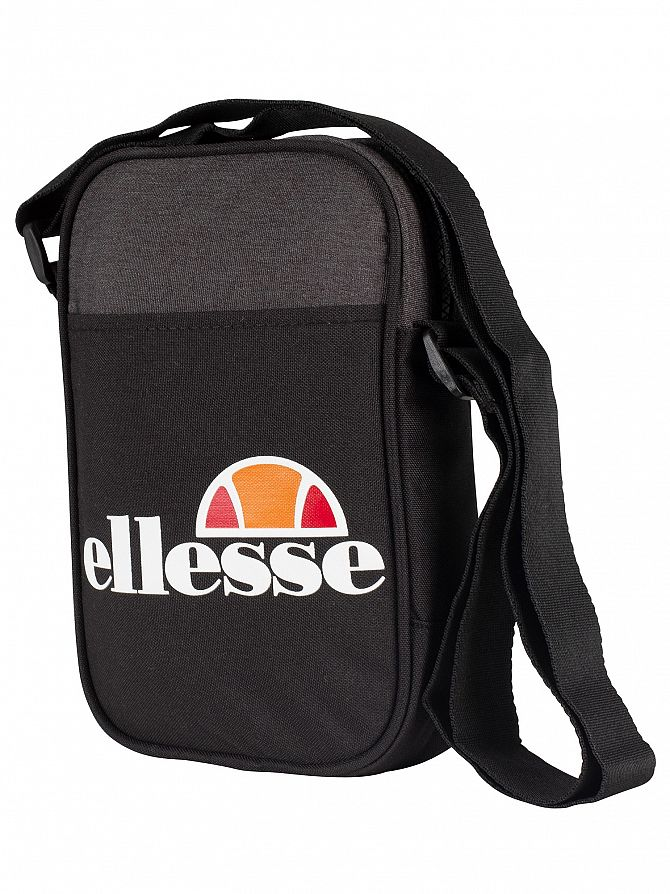 Ellesse Black Lukka Cross Body Bag