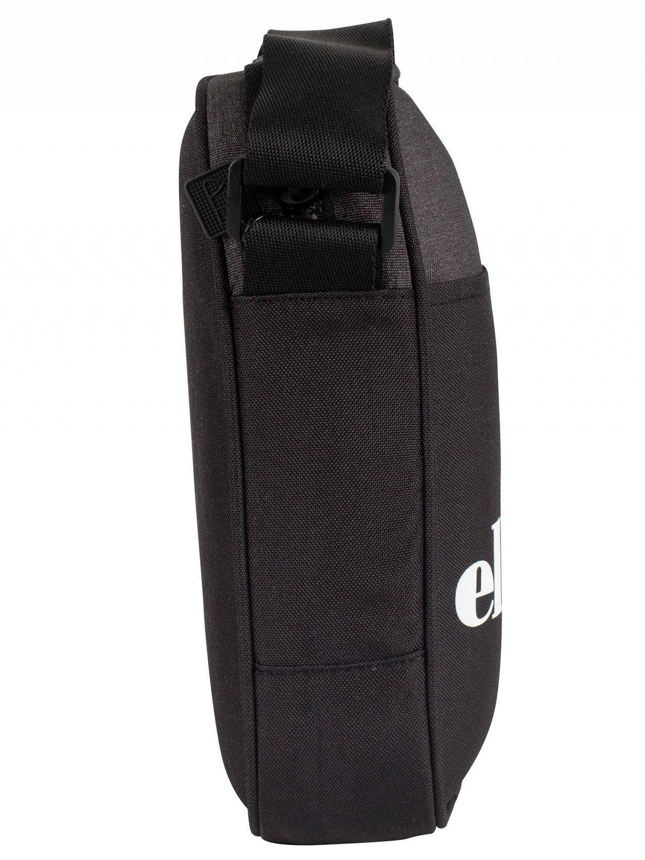 a48f6087d153 Ellesse Black Lukka Cross Body Bag