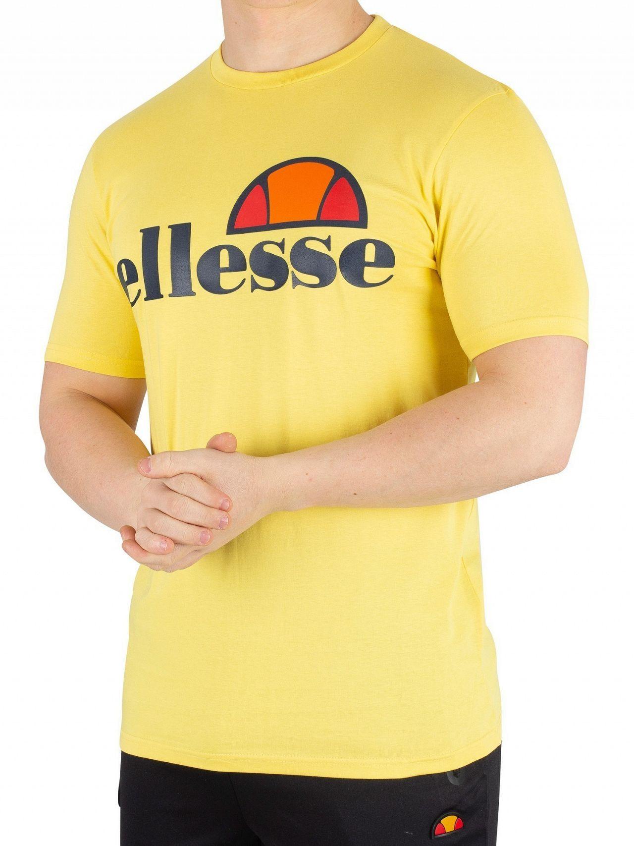 f21280a1 Ellesse Light Yellow Prado T-Shirt