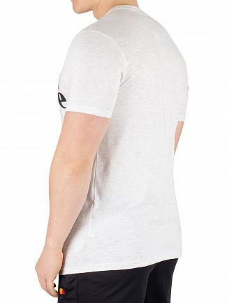 Ellesse White Marl Prado T-Shirt