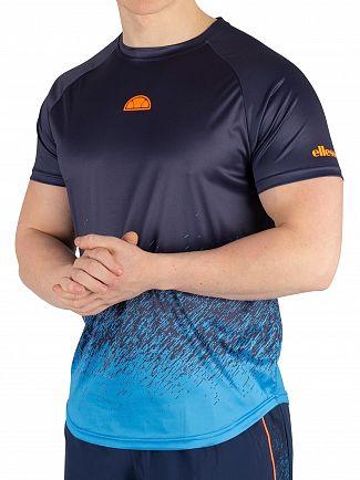 Ellesse Navy Raco T-Shirt