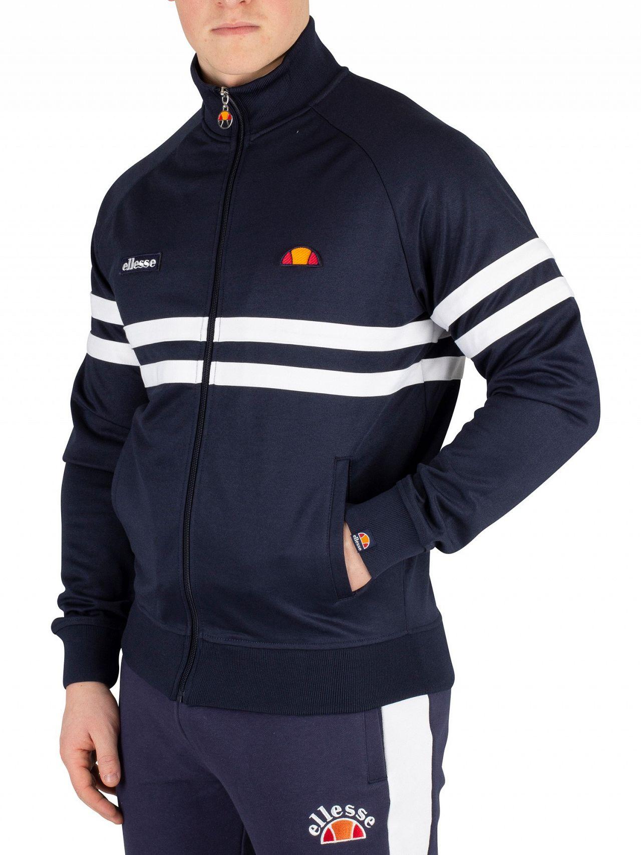 6e537aa5 Ellesse Navy Rimini Track Jacket