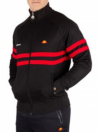 Ellesse Black Rimini Track Jacket