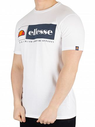 Ellesse White Riveria T-Shirt