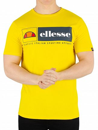 Ellesse Yellow Riveria T-Shirt