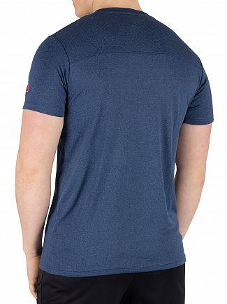 Ellesse Navy Marl Sammeti T-Shirt