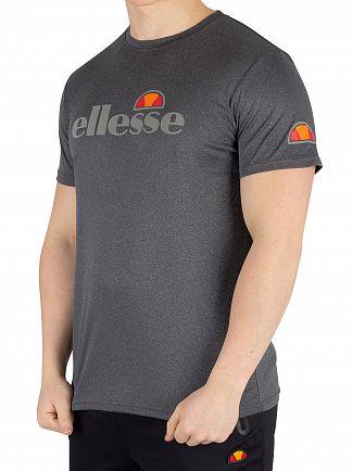 Ellesse Black Marl Sammeti T-Shirt