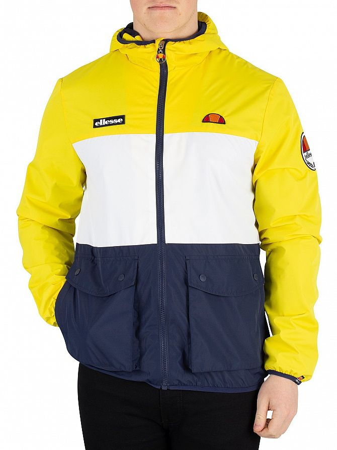 Ellesse Yellow Trio Full Zip Jacket