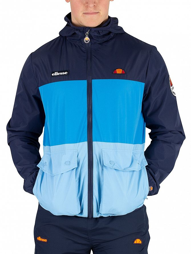 Ellesse Navy Trio Full Zip Jacket