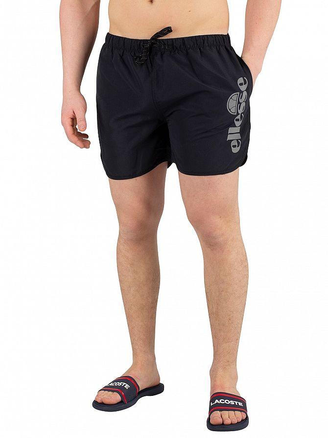 Ellesse Black Udine Poly Swimshorts