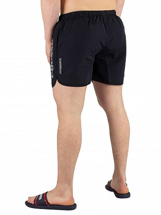 Ellesse Black Udine Poly Swimshorts