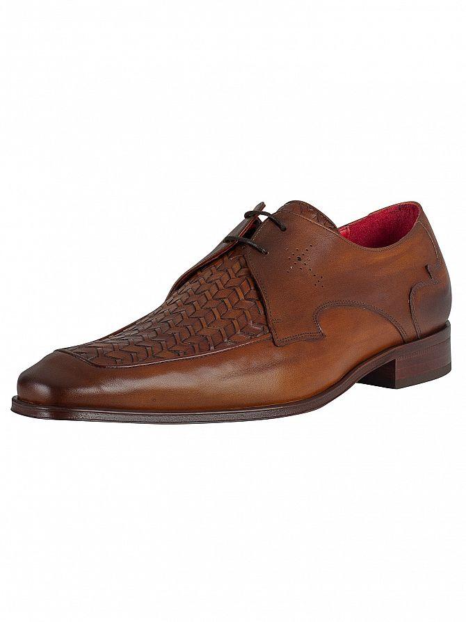 Jeffery West Castano Scarface Leather Shoes