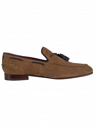 Jeffery West Rhum/Navy Suede Ibiza Loafer