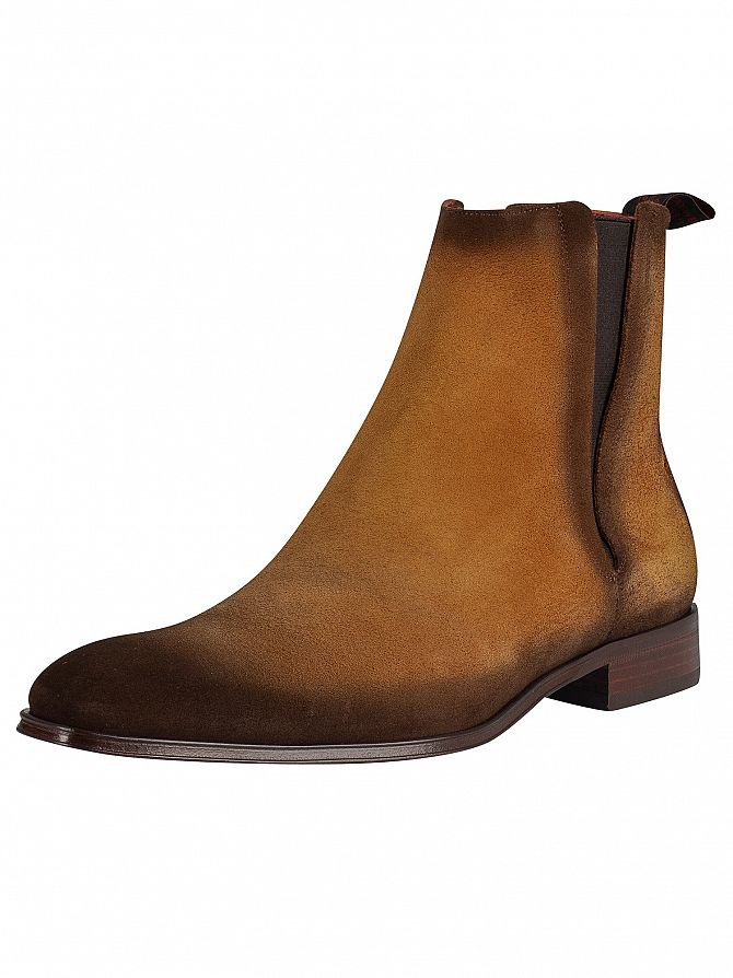 Jeffery West Honey Shadow Velour Boots