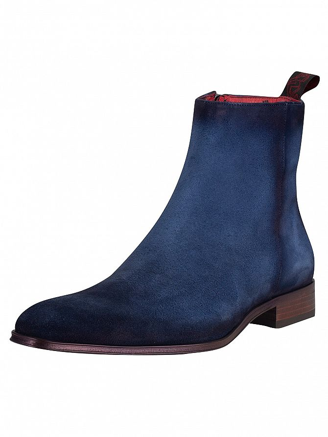 Jeffery West Jeans Shadow Velour Boots