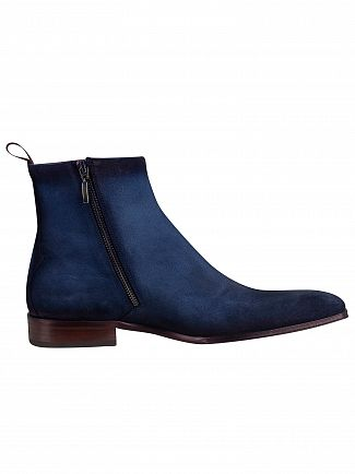 Jeffery West Jeans Shadow Velour Boots
