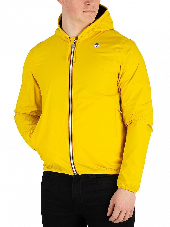 K-Way Yellow/Grey Jacques Reversible Plus Double Jacket