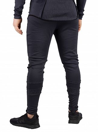 Sik Silk Anthracite Reflective Sprint Track Joggers