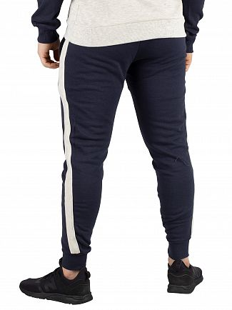 Sik Silk Navy Taped Fitted Joggers