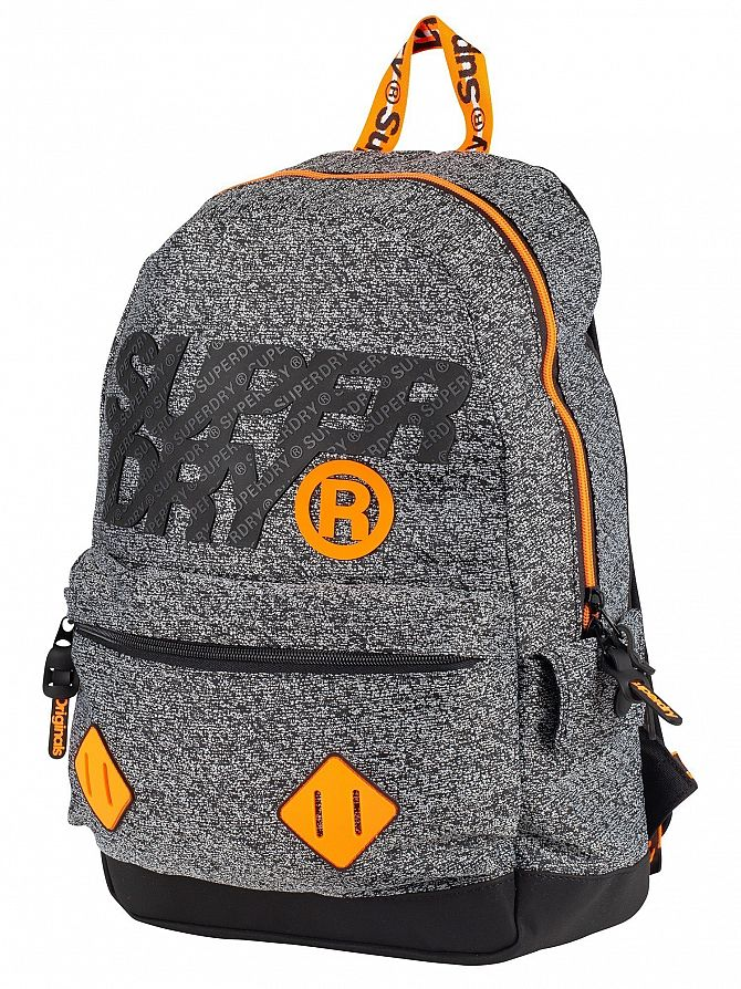 Superdry Grey Grit City Montana Backpack