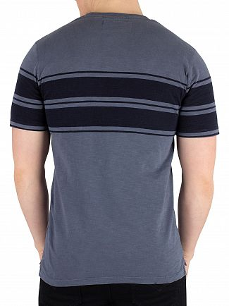 Superdry Ocean Pastel Blue Dry Originals Stripe T-Shirt