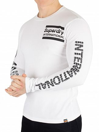 Superdry Optic International Monochrome Longsleeved T-Shirt