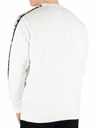 Superdry Optic International Monochrome Oversized Sweatshirt