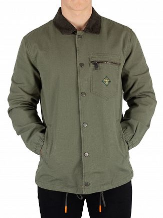 Superdry Sage Supersonic Canvas Coach Jacket
