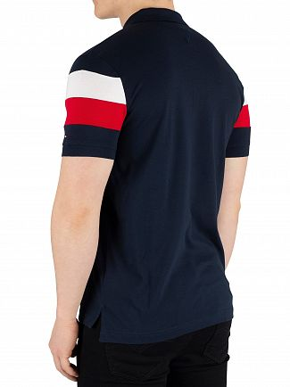 Tommy Hilfiger Sky Captain Chest Stripe Regular Poloshirt