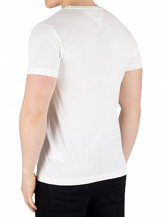 Tommy Hilfiger Bright White Flag T-Shirt