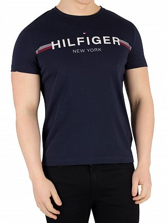 Tommy Hilfiger Sky Captain Flag T-Shirt