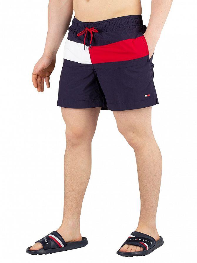 Tommy Hilfiger Navy Blazer Medium Drawstring Swimshorts