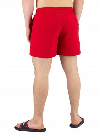 Tommy Hilfiger Tango Red Medium Drawstring Swimshorts