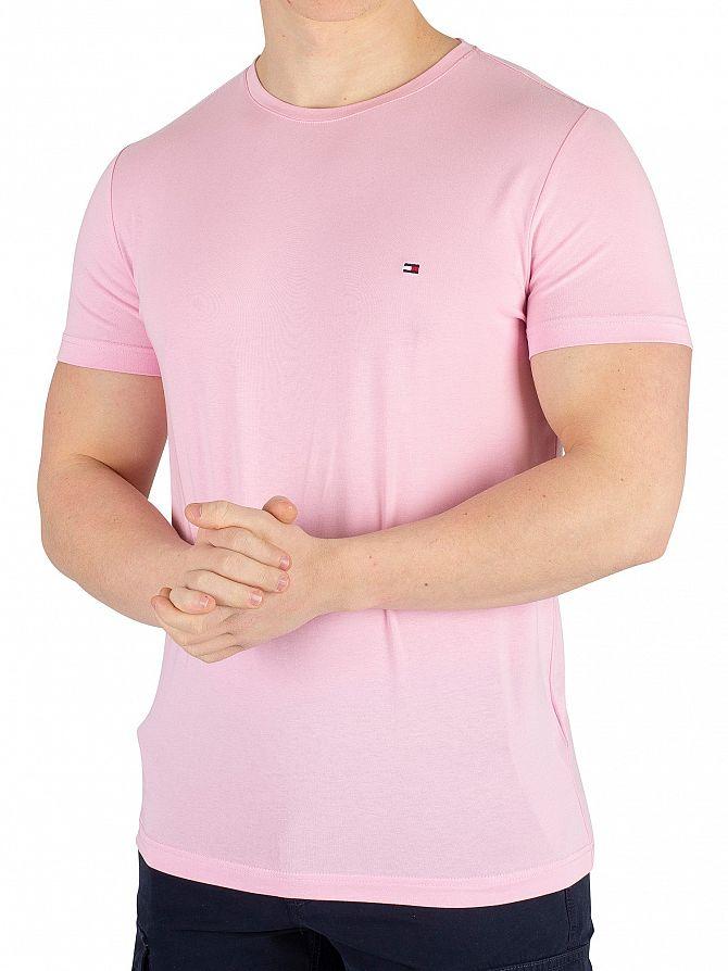 Tommy Hilfiger Sweet Lilac Stretch Slim Fit T-Shirt